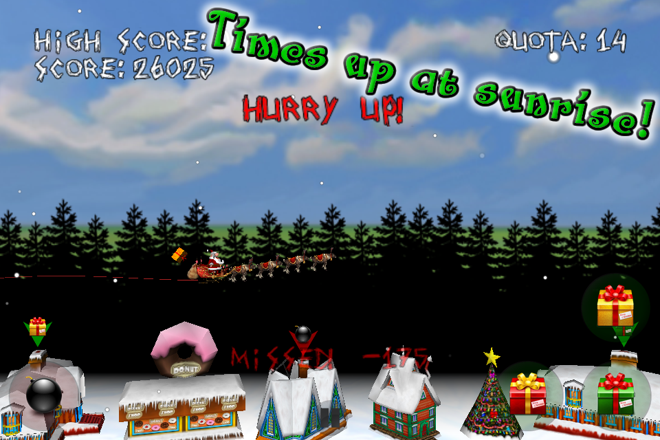 Screenshot Angry Santa's Christmas Revenge!